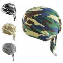 Piratenhoed in Hip Hop Stijl met Camouflagepatroon