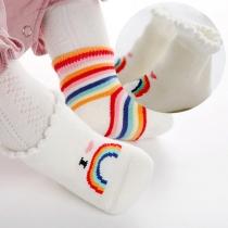 Modern Sokken voor Baby's met Regenboog