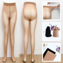 Moderne Rekbare Panty met Hoge Taille