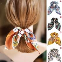 Kleurrijk Haarband in Frisse Stijl met Pareltje