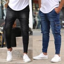 Modern Jeans voor Heren met Zijzakken