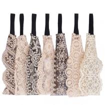 Moderne Haarband met Kanten Design
