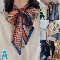 Moderne Multifunctionele Sjaal met Print