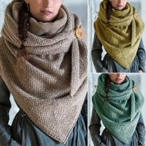 Moderne Sjaal met Gemengde Kleuren