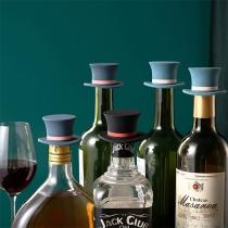 Leuke Wijnflesstop van Siliconen in Toverhoed