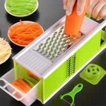 5 in 1 Multifunctioneel Keukengereedschap met Rasp en Groentesnijder