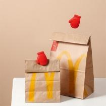 Creatieve Handschoenvormige Sluitclips voor Etenswaarzakjes 2 Paar / Set
