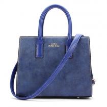 Retro Solid Color Hnadbag Shoulder Messenger Bag