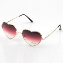 Fashion Heart-shaped Frame Sunglasses