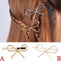 Leuke Haarspeld in de Strikjesvorm