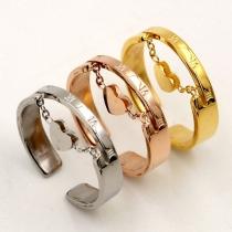 Moderne Open Ring met Harthanger