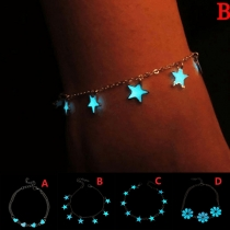 Modern Armband met Lichtgevende Sterhangers