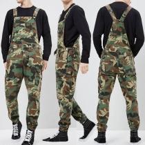 Moderne Tuinbroek voor Heren met Camouflagepatroon