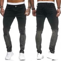 Moderne Jeans met Middelhoge Taille en Slanke Pasvorm