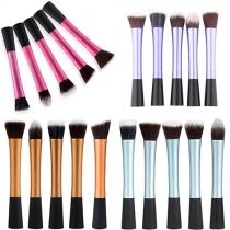 5 Stuks Make-up Borstel Set Professioneel Cosmetische Hulpmiddelen