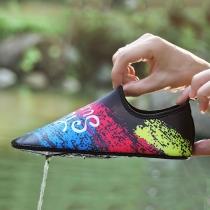 Modern Kleurrijk Bedrukte Schoenen voor Duiken en Waden