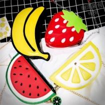 Schoudertas met Creatief Ontwerp in Fruitvorm