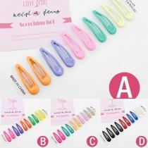 Modern Kleurrijk Haarspeldenset in Snoepkleuren 5 Stuks / Set