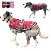 Leuke Geruite Vest voor Huisdieren met Pluchen Voering