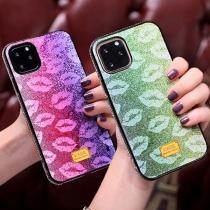 Creatieve Telefoonhoesje voor iPhone met Lippenmotief