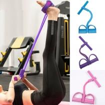 Multifunctionele Weerstandsbanden voor Thuissport Yoga Workouts Arm- en beenoefeningen en Buikspiertraining