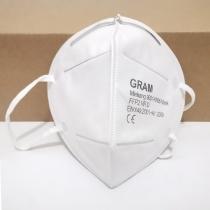 2 STUKS CE Gecertificeerde FFP2 KN95 Wegwerpmaskers Gezichtsmasker