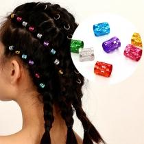 Moderne Kleurrijke Haaraccessoires voor Vlechten