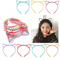 Leuk Haarbandset met Kattenoren 3 Stuks/Set
