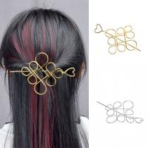 Haarspeldenset in Retrostijl in Chinese Knoopvorm