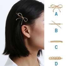 Leuke Haarspeld in Strikjesvorm