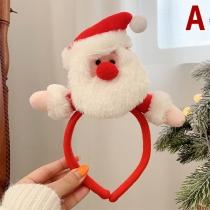Leuke Haarband met Kerstpop