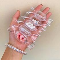 Creatieve Accessoires Transparante Snoepvormige Bakjes 5 Stuks/Set
