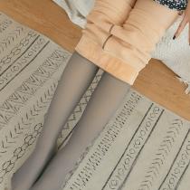 Moderne Legging met Hoge Taille en Pluche Voering