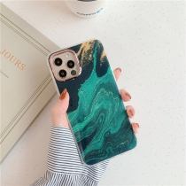 Green Thin Glossy Soft TPU Rubber Gel Phone Case Cover Compatible for Iphone  Samsung Galaxy S10/A50