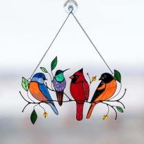 Sierlijk Ornament voor Huisdecoratie met Vogels om aan Ramen en Deuren te Hangen