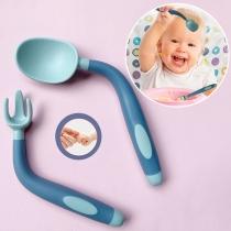 Eetlepel en Vork Servies voor Baby's en Peuters 2 Stuks / Set