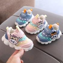 Leuke Sneakers voor Baby's en Peuters met Cartoon Dierenpatronen en Antislipzolen