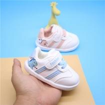 Schattige Baby- en Peutersneakers met Cartoondieren en Ronde Neuzen