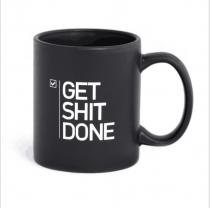 Grappig Get it DONE mok Kantoor mok Cadeau chique koffiemok