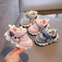 Baby zachte zolen peuter schoenen mesh ademende sneakers