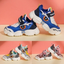Ademende Sneakers voor Baby's en Peuters in Contrasterende Kleuren met Zachte Antislipzolen