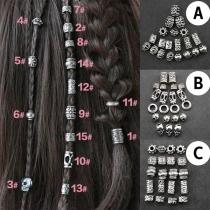 Haarringen in Punkstijl voor Dreadlocks-20 stuks