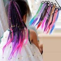 Creatieve DIY Haarvlechtset voor Kinderen met Kleurverloop 3 Stuks / Set