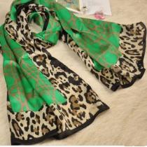 Cool Groen Luipaard Sjaal