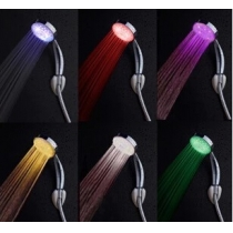 Color Changing LED Hand Shower